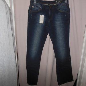 J24 Boot Jambe Semi Evasee Jeans Size 6S/C